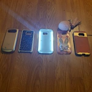 BUNDLE OF 5 Galaxy s7 Phone Cases